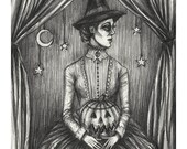 Samhain Witch- Print 8x10...