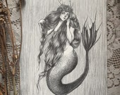 Mermaid Queen- Original D...