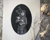 Saint Agnes- 8x10 Print...