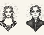 Sleepy Hollow Print Set -...