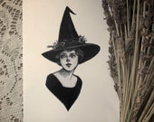 "Lavender Witch- 5x7""..."
