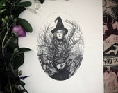 Green Witch - 8x10 Origin...