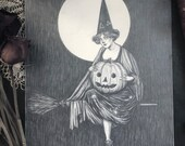 Jack o'lantern Witch-...