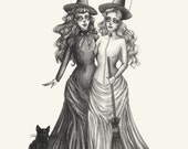 The Witches- Print 8x10...