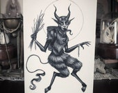 Merry Krampus Card- Pack ...