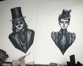 Dracula and Mina Fine Art...