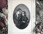 Gomez & Morticia Card - 5...