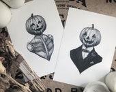 Husband & Wife Pumpkin Co...