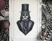 "Dracula Card - 5x7"" Dou..."
