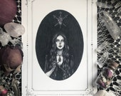 The Love Witch Card - 5x7...