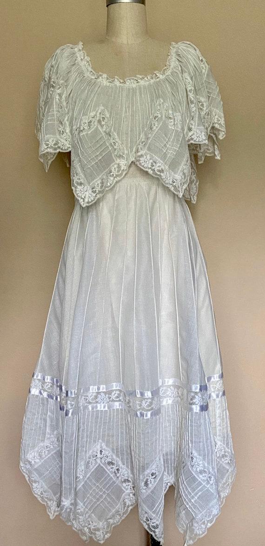 1970s Lace Dress - image 1