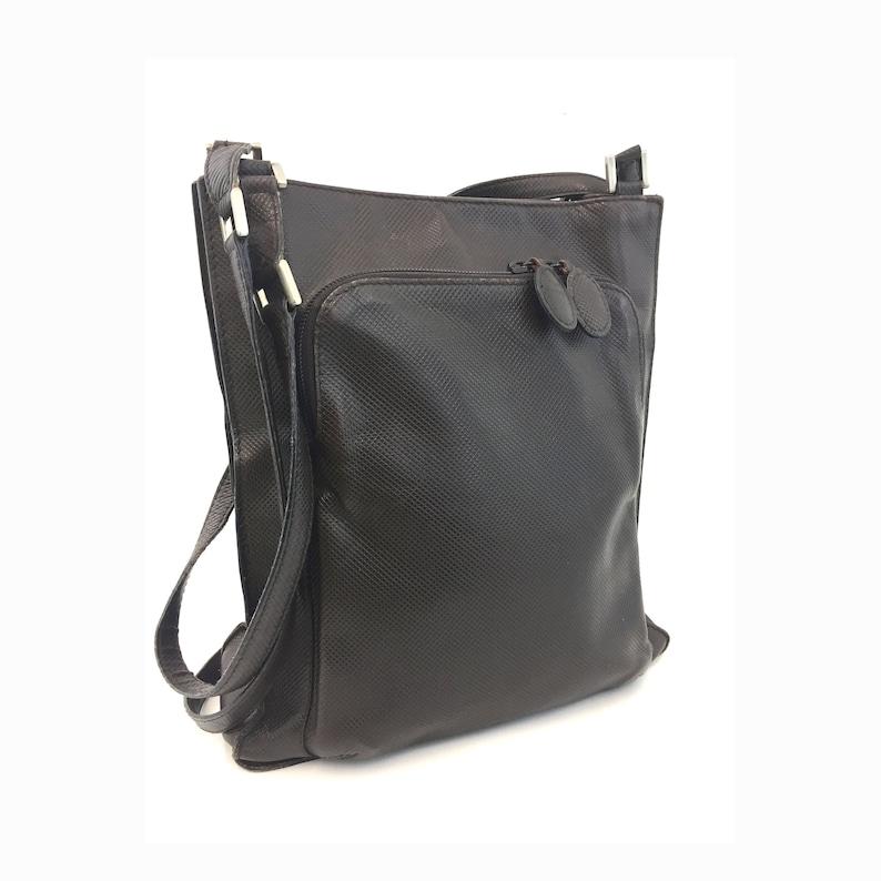 d837fdfaf0 Vintage Bottega Veneta Authentic Leather Shoulder Bag Brown