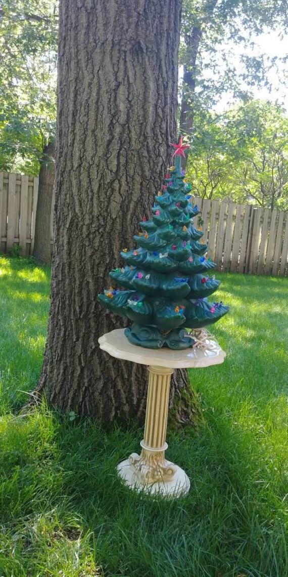 Vintage 24 Musical Atlantic Mold Ceramic Christmas Tree | Etsy