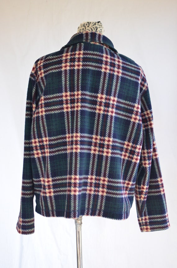 90 Flannel  Jacket large / Grunge Flannel / 90s A… - image 4