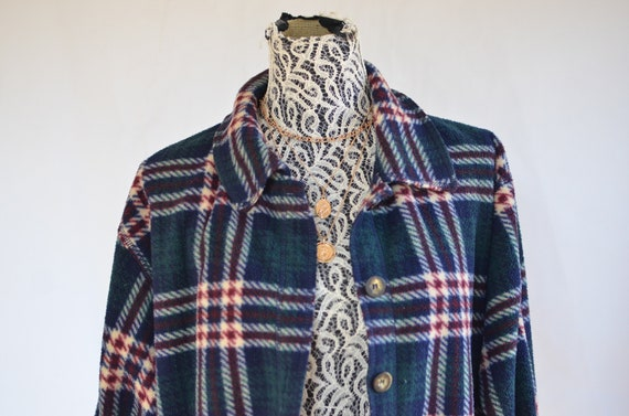 90 Flannel  Jacket large / Grunge Flannel / 90s A… - image 1