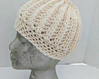 da6d5fd6f77 Beige ponytail hat
