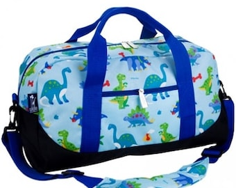 2018 - Personalized Dinosaur Duffel Bags, Monogrammed Dinosaur Duffel Bags,  Dinosaur Duffel Bag, Dinosaur Rolling Luggage, Christmas Gifts 9c9f524396