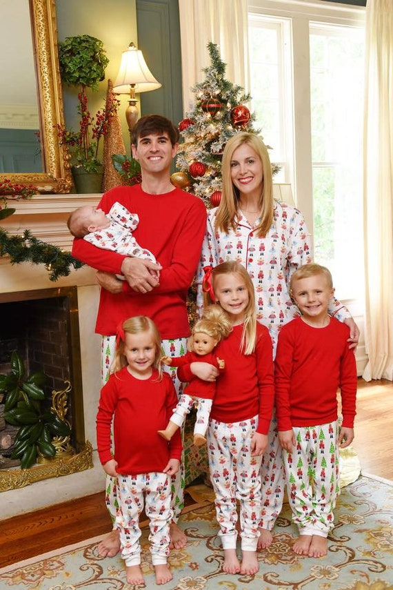 Family Christmas Pajamas 2019.2019 Christmas Pajamas Final Pre Order Now Sep 1 For Nov Delivery Nutcracker Pajamas Organic Pajamas Polar Express Pj S Family Pajamas