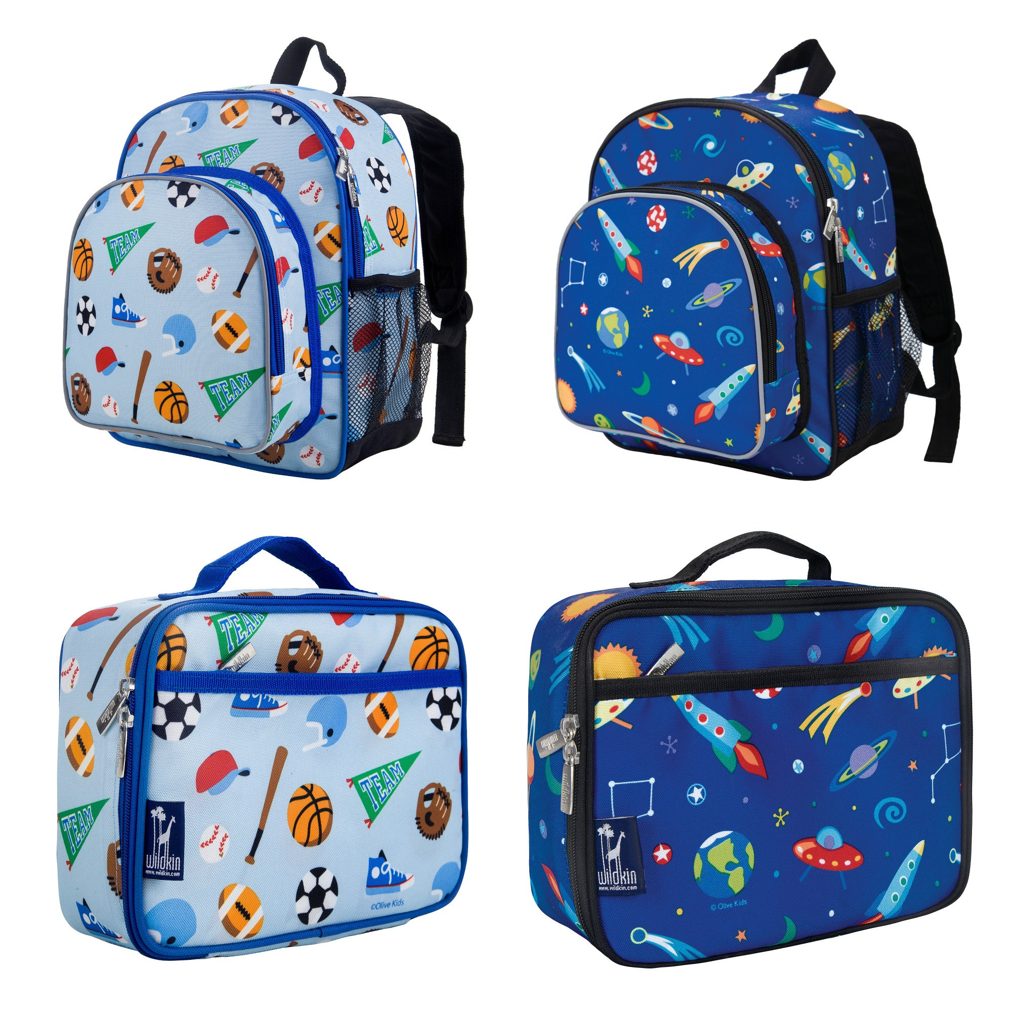 f630cc54f991 2018 Pre Schol Personalized Backpack and Lunch Box Sets