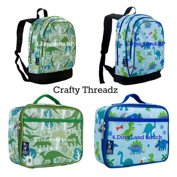 d6cda064c5 2018 Personalized Backpack and Lunch Box Sets Dinosaur
