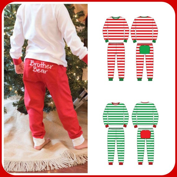 ca22621cc3b6 Pre-Order Mid Oct Delivery Christmas PajamasMonogrammed