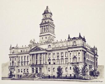 Wayne County Courthouse, Detroit, Michigan