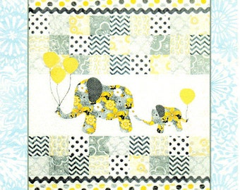 6e23f4f95694 MOMMY   ME Baby or Child Quilt Pattern Full Size Applique Patterns Included  - Boy or Girl Version By  Colette Belt- QP1401