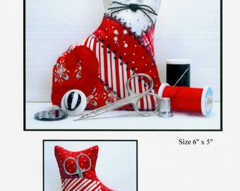 CALICO CAT PINCUSHION SEWING PATTERN NEW From Oceanlake Designs