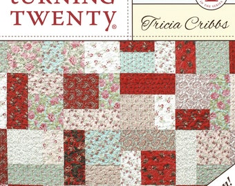 Easy as ABC /& 123 Quilt Pattern 6 Size Options from Crib to King Fat Quarter Friendly