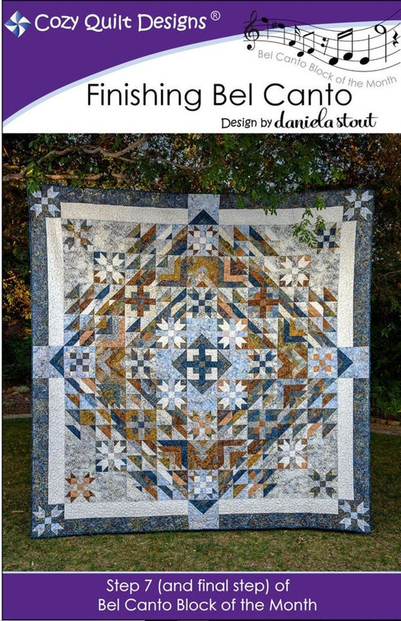 Finishing Cozy Step 7and Canto Club ByDaniela Bel Pattern StepOf Stout Designs Quilt Final Bom 5AjL4R