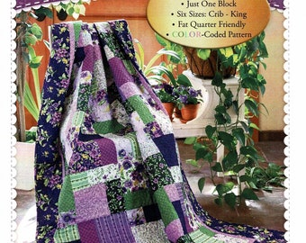 EASY AS ABC & 123 ** A Beginners Friendly Quilt Pattern** By: Jennifer Bosworth for Shabby Fabrics #SF48555