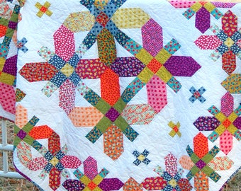 COVENTRY GARDENS Quilt Pattern *Fat Quarter Friendly* #214 BY: Marcea Owen - Cotton Street Commons