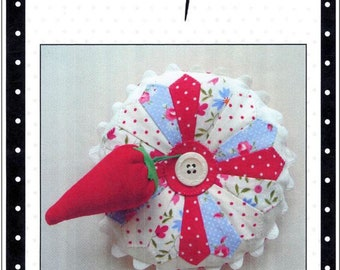 DRESDEN PINCUSHION  - a sweet and simple Cotton Pickens' Quilts  CPQ1020