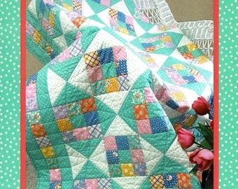 Sweetie-Pie   *A Great Beginner Quilt Pattern!*   By Darlene Zimmerman