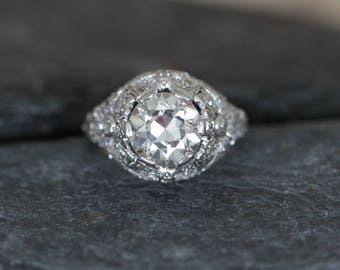 "Vintage & Antique Jewelry Vintage Sterling Silver Western Black Onyx Gem Dangle Earrings 2"" T Jewelry & Watches"