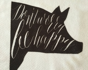 Set Of Four Country Farmhouse Dish Towels