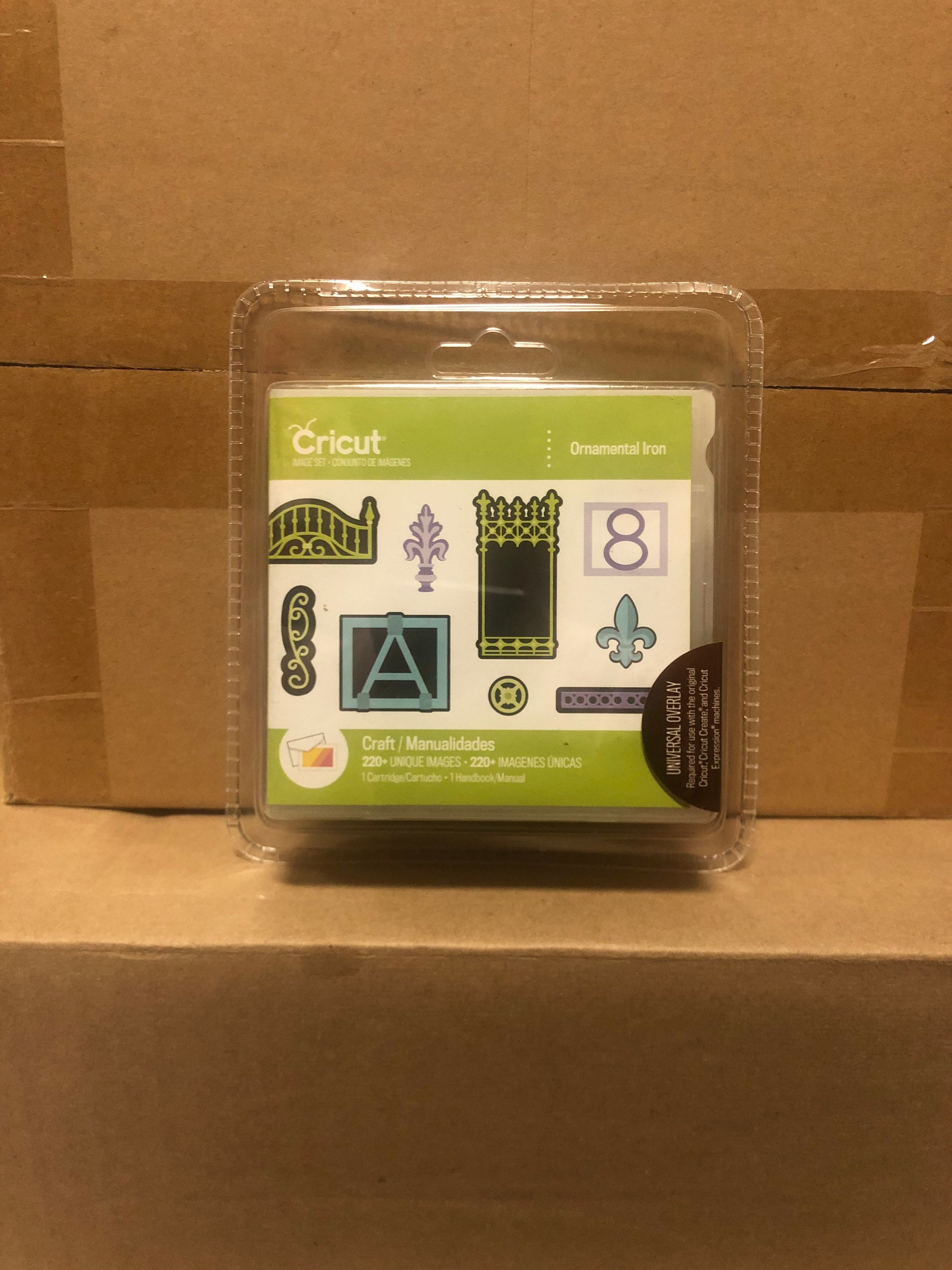 4 Brand New *SEALED* Cricut Cartridges Bundle Lot 4 Universal Keypad Overlay