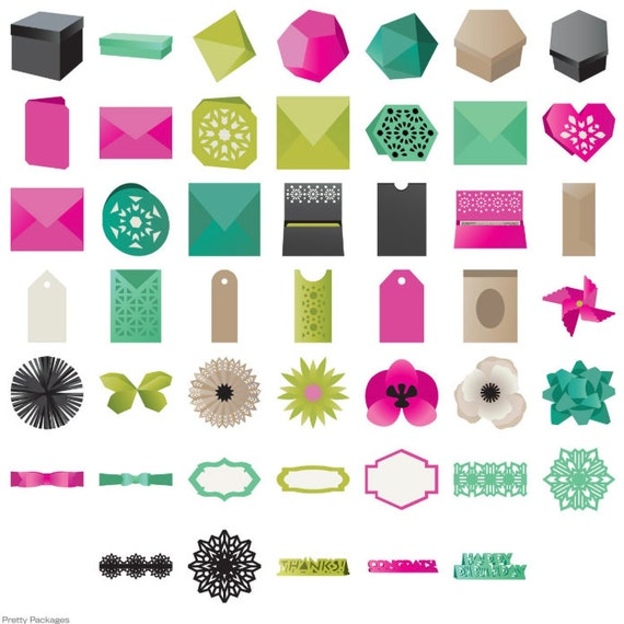 Sealed Cricut Cartridge Pretty Packages Brand New