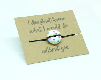 Doughnut Pun Bracelet