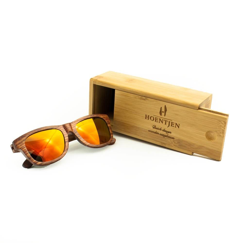 Gafas de sol de madera-Scheveningen creación de