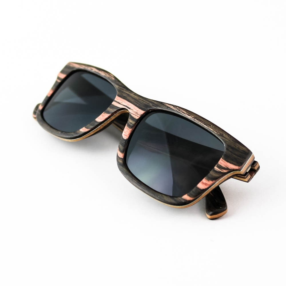 Hoentjen gafas de sol de madera Dune du playa