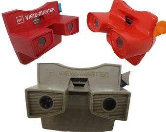 View-Master Viewers Models G and L
