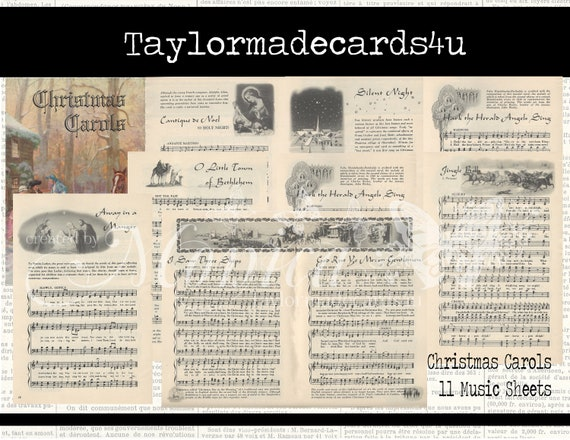 photograph relating to Printable Christmas Sheet Music identify Common Xmas Sheet Audio , Printable Webpages , Electronic Obtain , Card Developing, Sbooking, Junk Magazines,Xmas