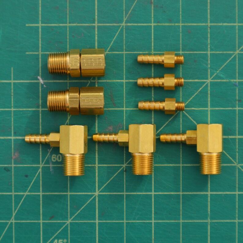 Movie /& Spirit Packs! Proton Pack Brass Kit