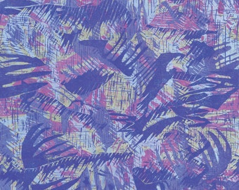 Abstract print - blue and purple giclee - LIMITED EDITION of 9