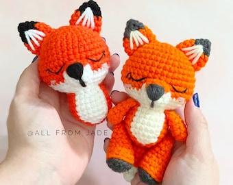 CROCHET PATTERN : Roxanne the Mini Fox (English/French)