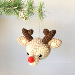 PATTERN : Reindeer (English and French)