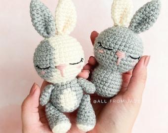 CROCHET PATTERN : Lola the Mini Bunny (English/French)