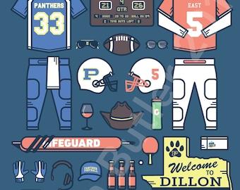 Friday Night Lights • TV Parts Poster