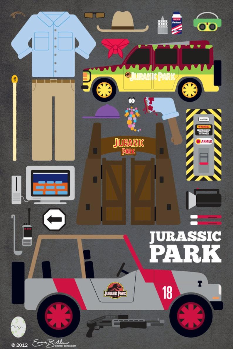 Jurassic Park  Movie Parts Poster image 0